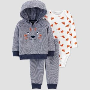 Carter's Lion outfit NWT